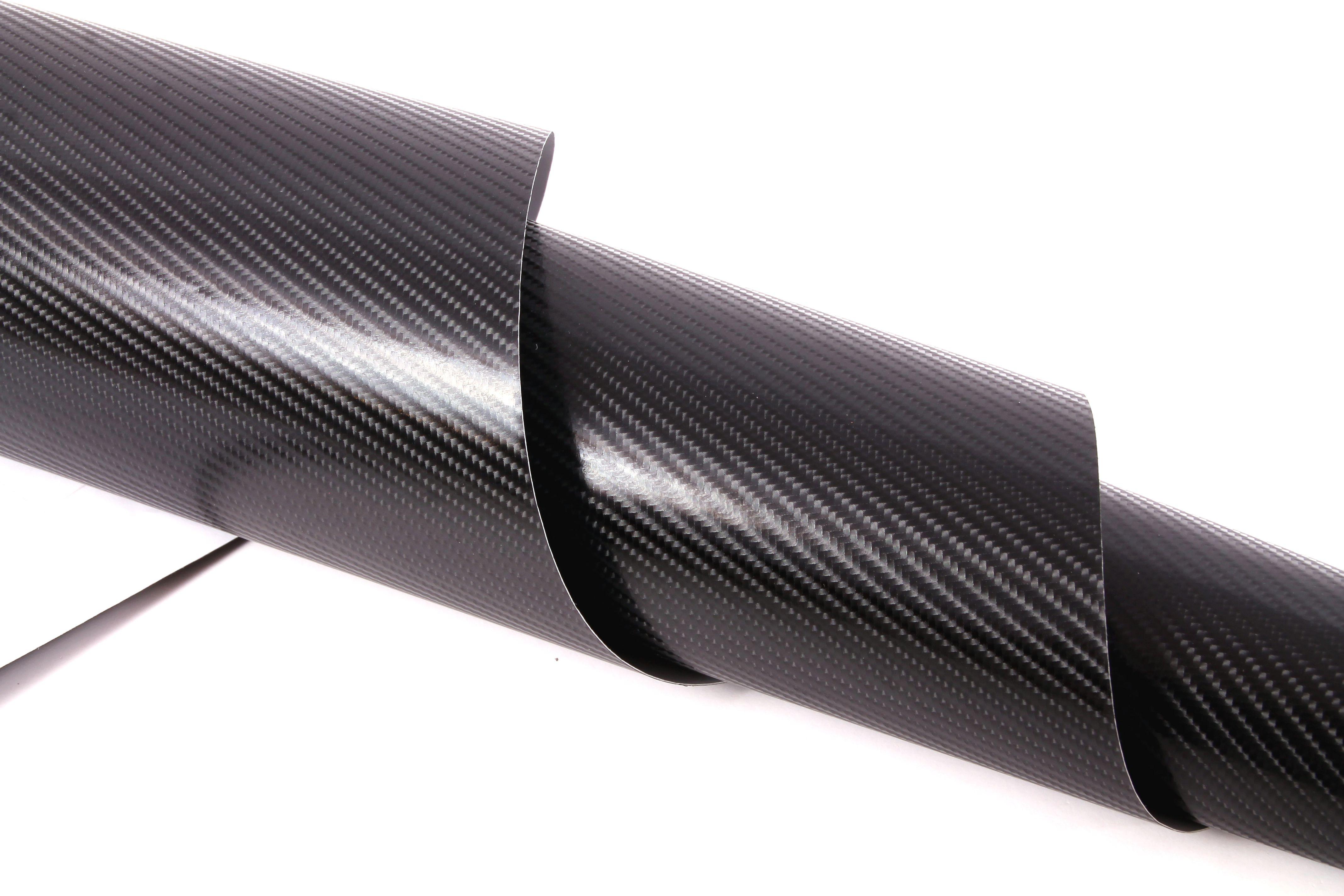 4d carbon look folie schwarz zur verklebung car wrapping. Black Bedroom Furniture Sets. Home Design Ideas
