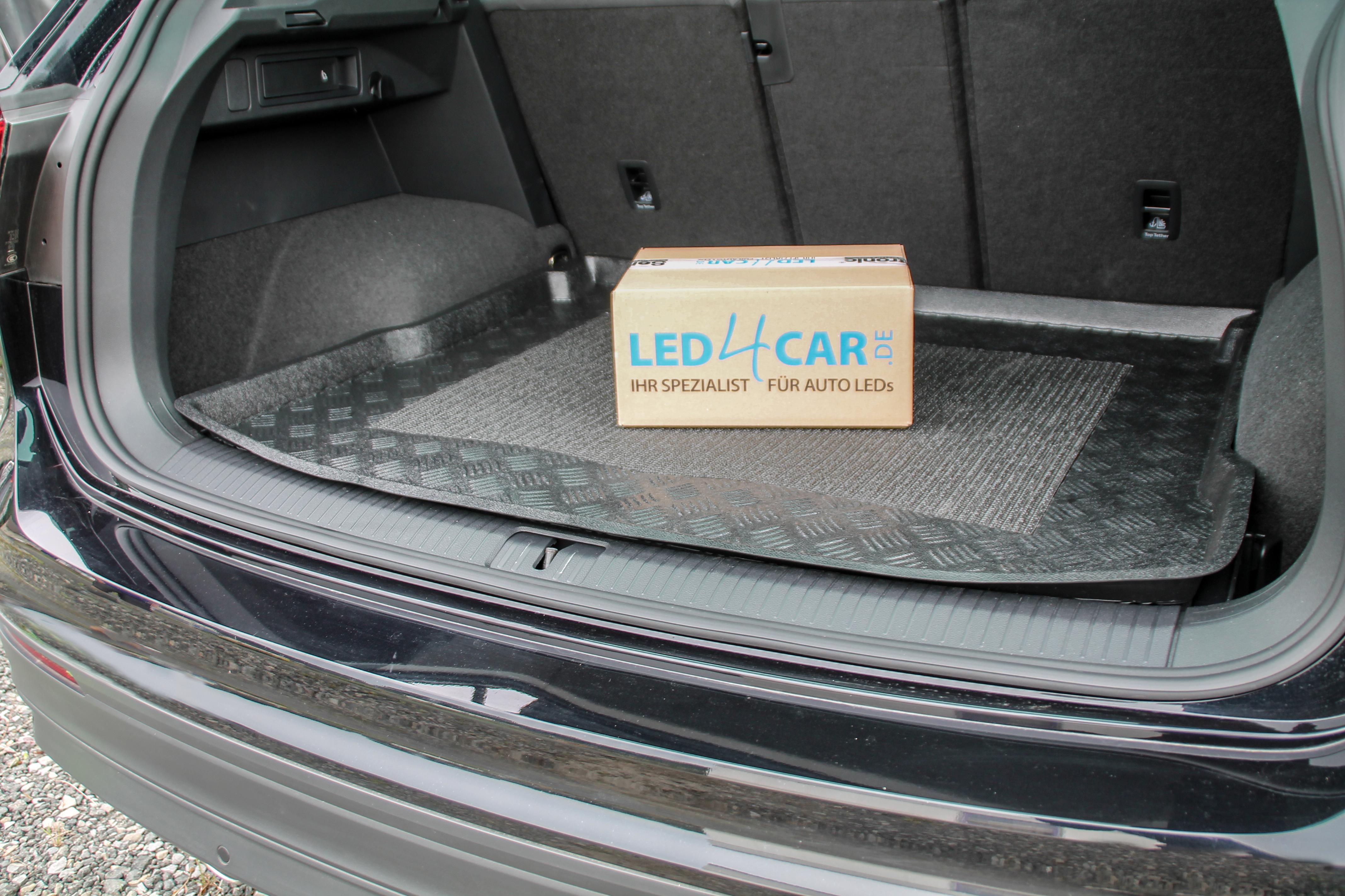 untere Ladeboden Kofferraumwanne mit Anti-Rutsch für Seat Mii ab 2012