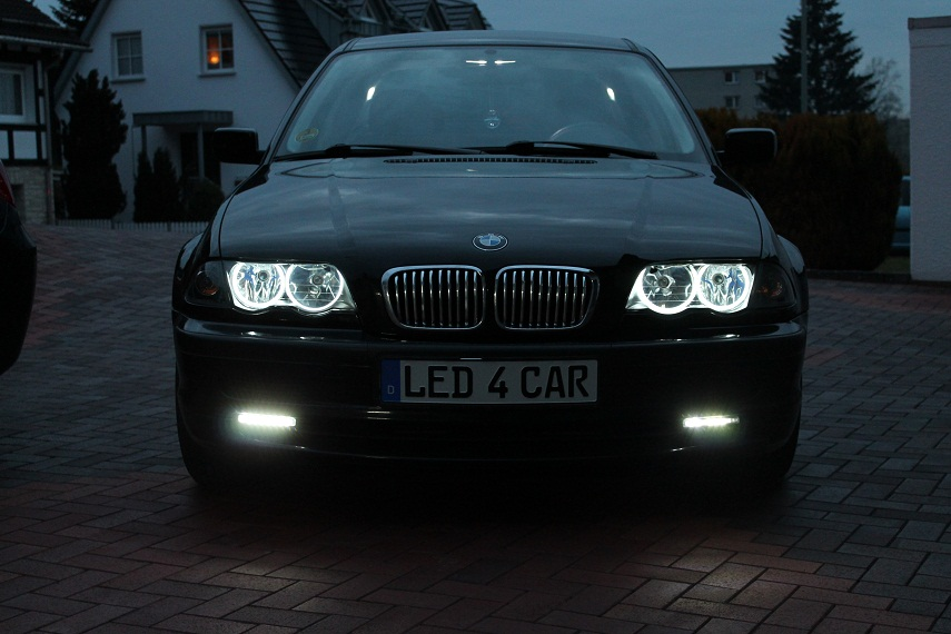 Seitronic Ccfl Angel Eyes Fr Bmw E46 Coupe Cabrio Standlichtringe-1846