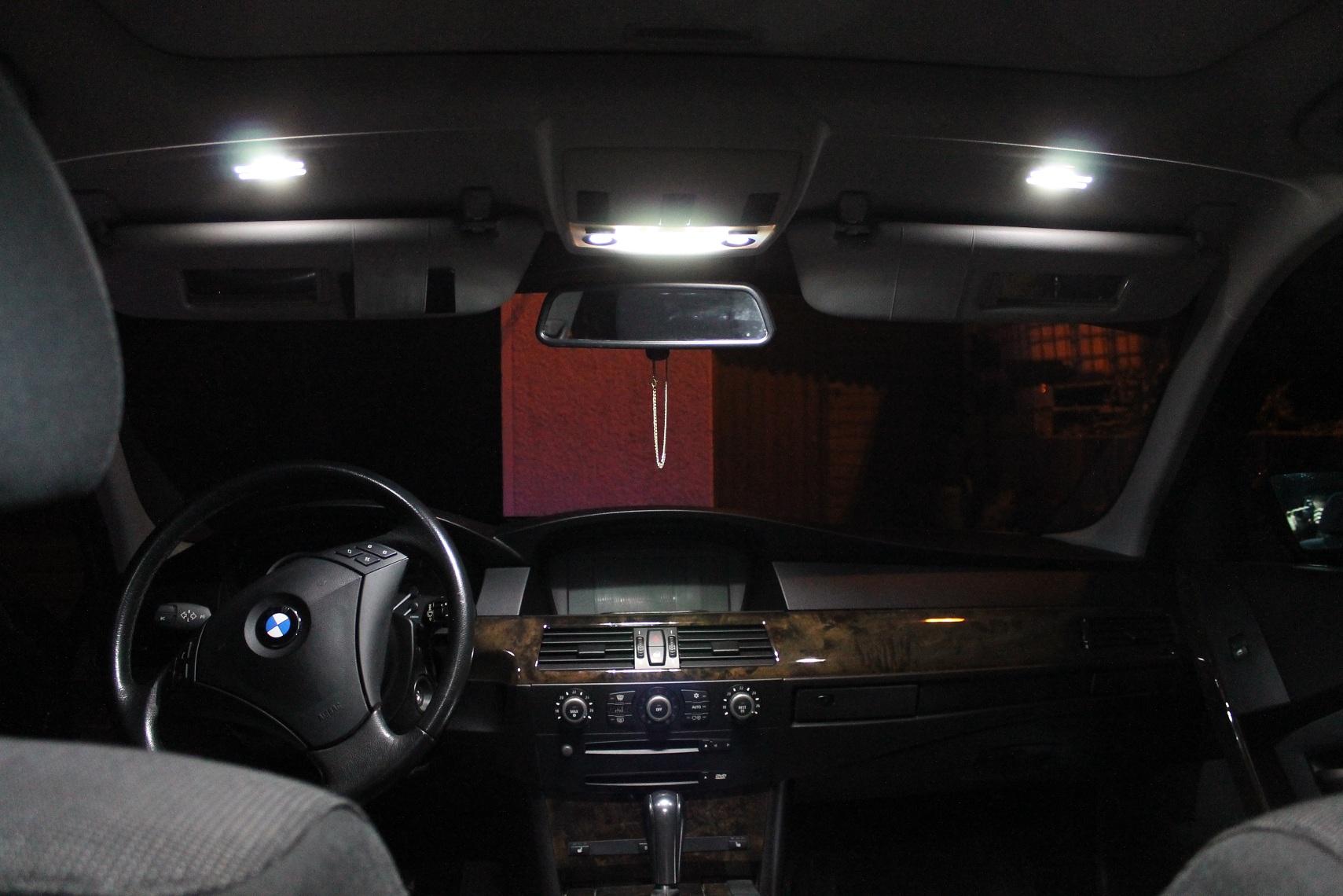 led innenraumbeleuchtung set f r bmw e60 e65 e87. Black Bedroom Furniture Sets. Home Design Ideas